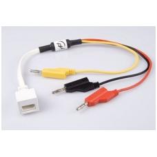 Adapteris jutiklių prijungimui prie 4 mm įėjimų BT kištuku