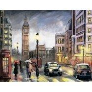 Deimantinės mozaikos rinkinys Londonas rudenį