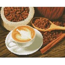 Deimantinės mozaikos rinkinys Kavos puodelis