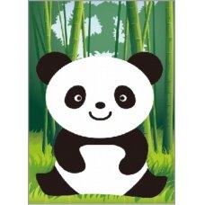 Deimantinės mozaikos rinkinys Mažoji Panda