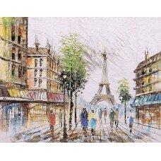 Deimantinės mozaikos rinkinys Paryžiaus nuotaikos