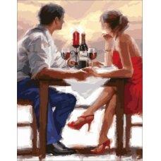 Deimantinės mozaikos rinkinys Romantiška vakarienė