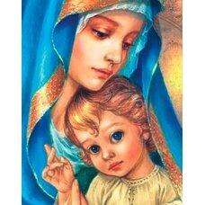 Deimantinės mozaikos rinkinys Šventoji motina