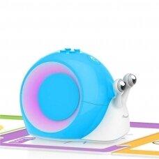 """Edukacinis robotas Robobloq """"Qobo"""", mėlyna spalva, lietuvių kalba"""