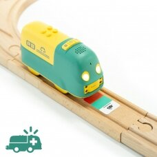 Edukacinis STEAM programuojamas traukinukas Robobloq Coding Express