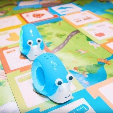 """Edukacinis robotas Robobloq """"Qobo"""", mėlyna spalva, lietuvių kalba 2"""
