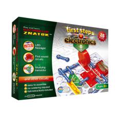 Elektronikos komponentų rinkinys B (15 eksperimentų)