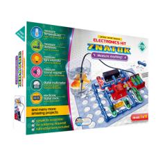 Elektronikos komponentų rinkinys Super matuoklis (6 projektai)