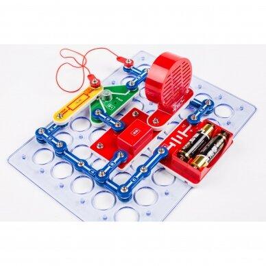 Elektronikos komponentų rinkinys 390 eksperimentų 2