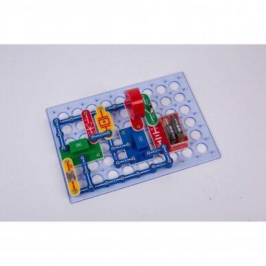 Elektronikos komponentų rinkinys 390 eksperimentų 3