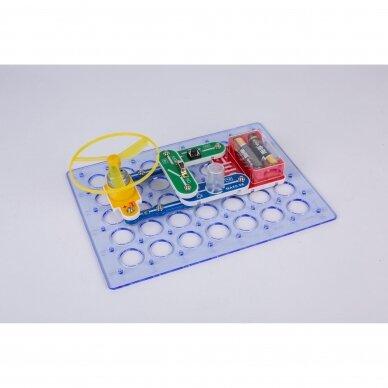 Elektronikos komponentų rinkinys A (15 eksperimentų) 3