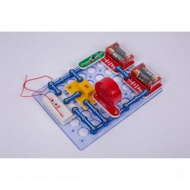 Elektronikos komponentų rinkinys C (34 eksperimentai) 2