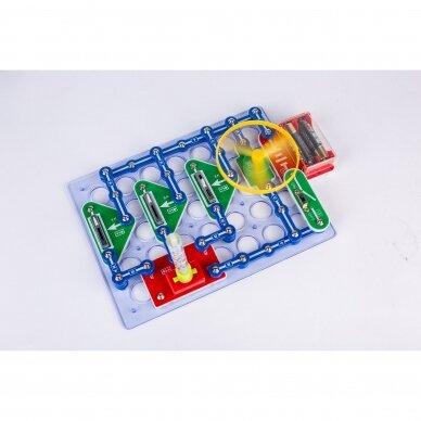 Elektronikos komponentų rinkinys RGB (15 eksperimentų) 2