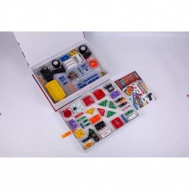 Elektronikos komponentų rinkinys Super rinkinys (5 projektai) 4