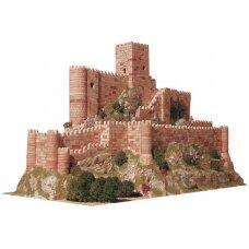 Mažų plytelių modeliavimo konstruktorius Almansa pilis (Ispanija)