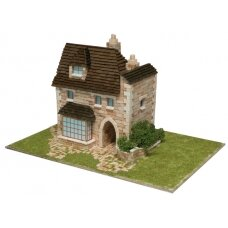 Mažų plytelių modeliavimo konstruktorius Angliškas namas
