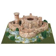 Mažų plytelių modeliavimo konstruktorius Belverio pilis (Ispanija)
