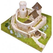 Mažų plytelių modeliavimo konstruktorius Bendzino pilis (Lenkija)