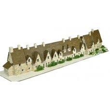 Mažų plytelių modeliavimo konstruktorius Bibury Arlingtono eilė (Anglija)