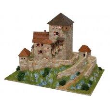 Mažų plytelių modeliavimo konstruktorius Branzoll pilis (Italija)