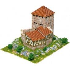 Mažų plytelių modeliavimo konstruktorius Burg Grenchen pilis (Šveicarija)