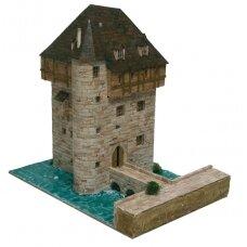 Mažų plytelių modeliavimo konstruktorius Crupet pilis (Belgija)
