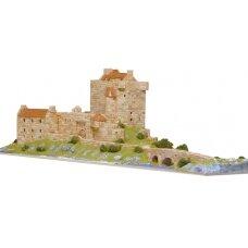 Mažų plytelių modeliavimo konstruktorius Eilean Donnain pilis (Škotija)