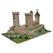 Mažų plytelių modeliavimo konstruktorius Fua pilis (Prancūzija)