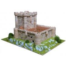 Mažų plytelių modeliavimo konstruktorius Fuensaldana pilis (Ispanija)