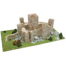 Mažų plytelių modeliavimo konstruktorius Gimarainso pilis (Portugalija)