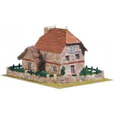 Mažų plytelių modeliavimo konstruktorius Kaimiškas pastatas 2