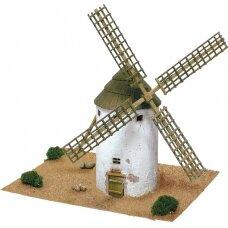 Mažų plytelių modeliavimo konstruktorius La Mančos vėjo malūnas (Ispanija)