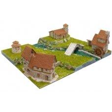Mažų plytelių modeliavimo konstruktorius Miestelis