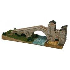 Mažų plytelių modeliavimo konstruktorius Naujasis Camprodono tiltas (Ispanija)