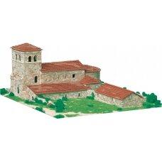 Mažų plytelių modeliavimo konstruktorius San Andres bažnyčia (Ispanija)