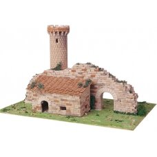 Mažų plytelių modeliavimo konstruktorius Sargybos bokštas