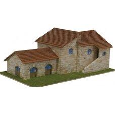 Mažų plytelių modeliavimo konstruktorius Toskanos vila