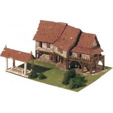 Mažų plytelių modeliavimo konstruktorius Užmiesčio namai