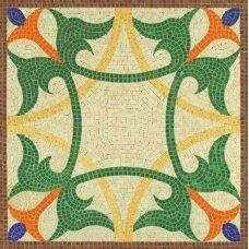 Mažų plytelių mozaika Geometrinė figūra 1