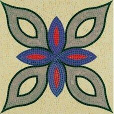 Mažų plytelių mozaika Geometrinė figūra 2