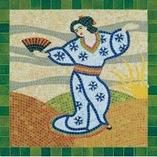 Mažų plytelių mozaika Japonė