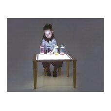 Medinis šviečiantis stalas