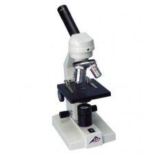 Monokuliarinis mokyklinis mikroskopas, modelis 100 (230 V, 50/60 Hz)