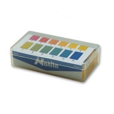 pH juostelių rinkinys (pH 1-14)