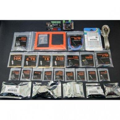 Programavimo rinkinys pradedančiajam Gravity: Arduino Zero to Hero Kit 2