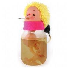 Rūkorė Sue rūkouž du - modelis nėščiosios rūkymo pavaizdavimui