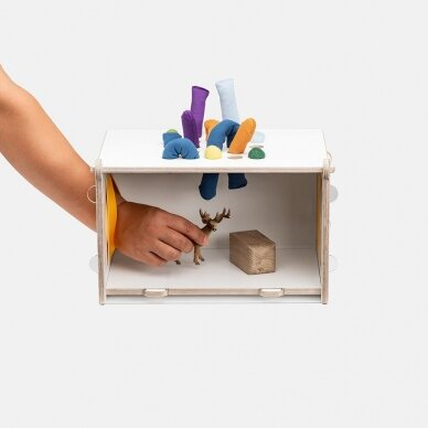 Edu2 Sensorinė spėliojimo dėžutė MIRABU 3