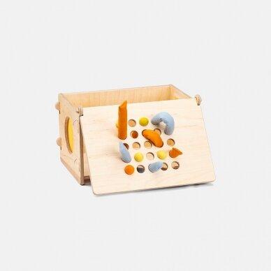Edu2 Sensorinė spėliojimo dėžutė MIRABU 2