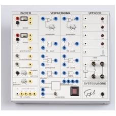 Sisteminė panelė kartu su tinklo laidu