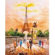 Tapybos pagal skaičius rinkinys Eifelio bokštas